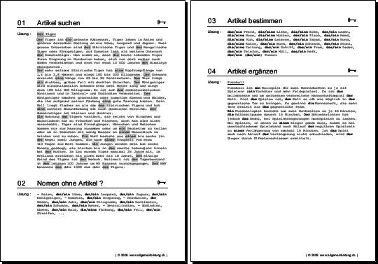 Arbeitsblatt Nomen Begleiter : Quiz geschichte klasse