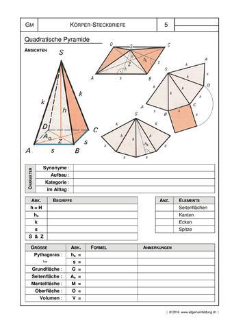 mathematik geometrie arbeitsblatt geometrische k rper. Black Bedroom Furniture Sets. Home Design Ideas