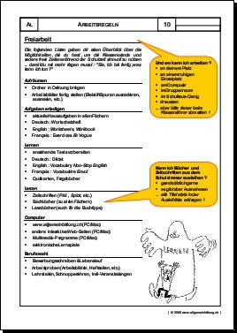 Allerlei Arbeitsblatt Freiarbeit 8500 übungen Arbeitsblätter