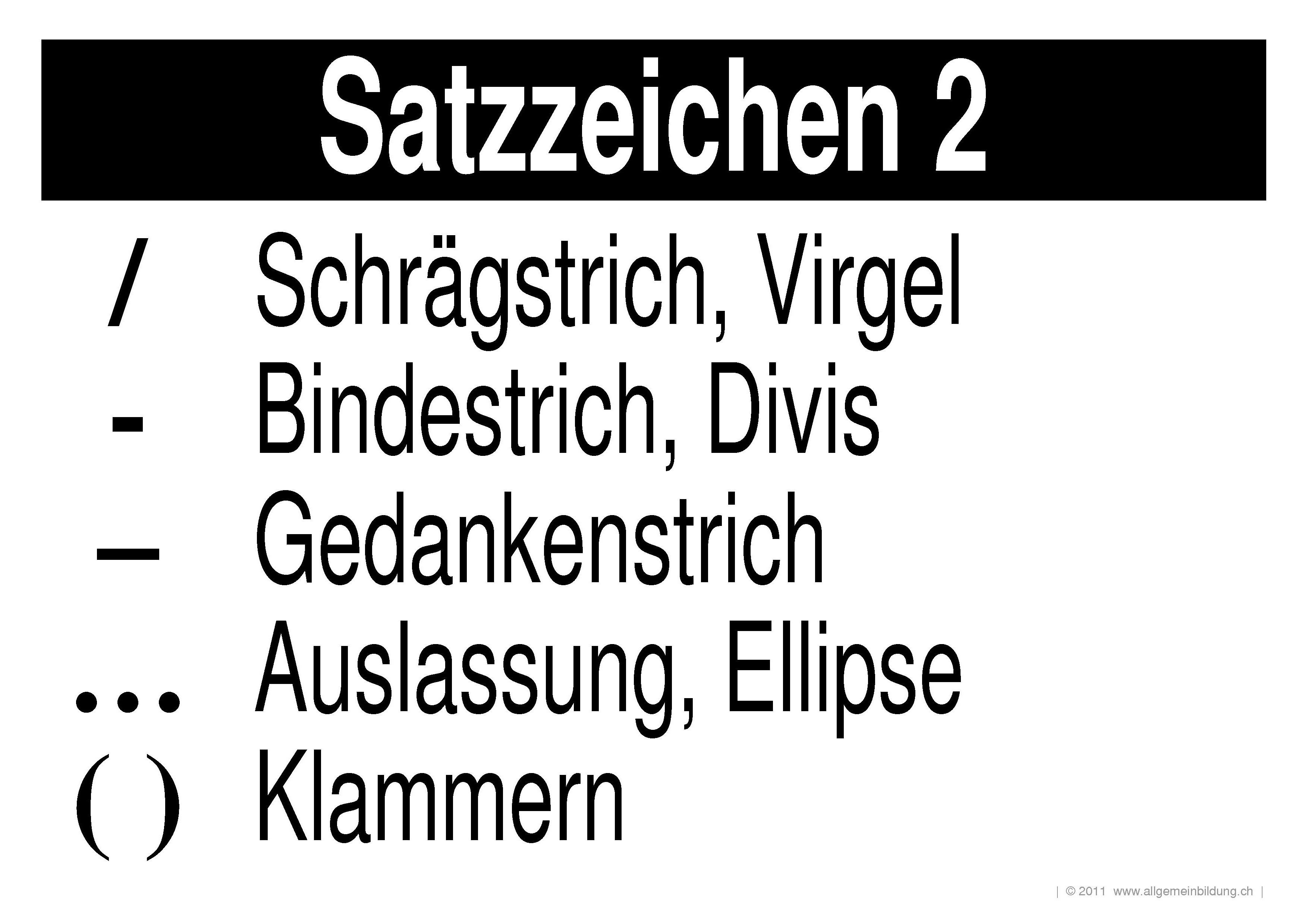 Deutsch   LernPlakate Wissensposter Satzzeichen 2   8500 Übungen ...