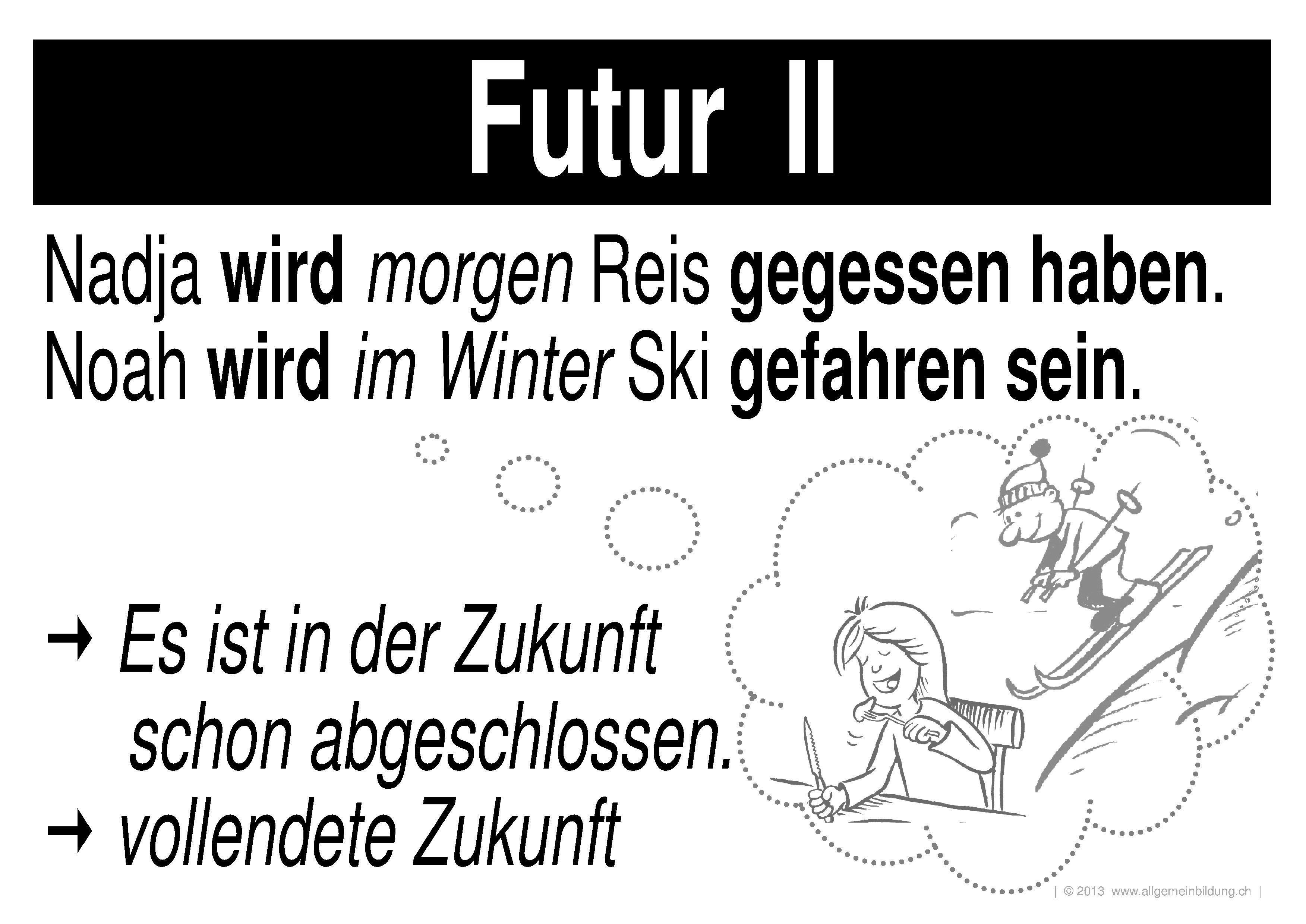 Deutsch   LernPlakate Wissensposter Verben Zeiten Tempi   8500 ...