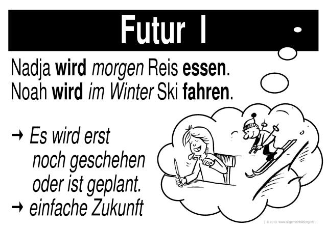Deutsch : LernPlakate Wissensposter Verben Zeiten Tempi ...