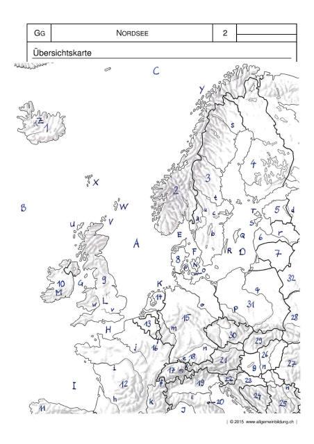 geografie karte nordsee meer k ste vorlage muster 8500 bungen arbeitsbl tter r tsel. Black Bedroom Furniture Sets. Home Design Ideas