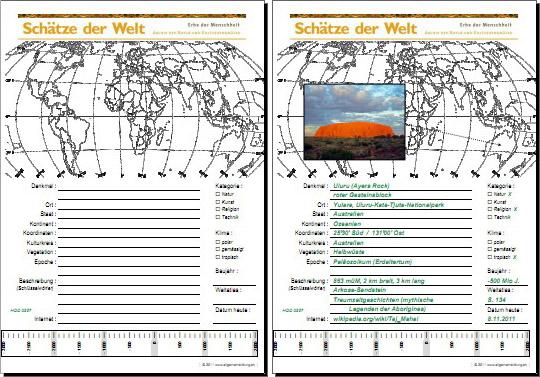 Geografie | UNESCO Welterbe Schätze der Welt - Australien - Uluru ...
