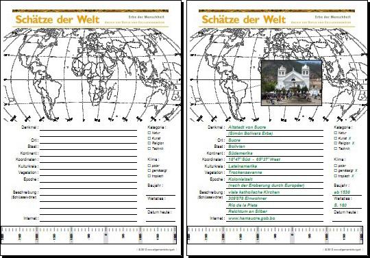 Geografie | UNESCO Welterbe Schätze der Welt - Bolivien - Sucre ...