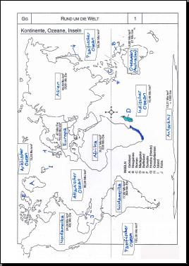 Geografie | Welt, Kontinente & Ozeane | 8500 Übungen, Arbeitsblätter ...