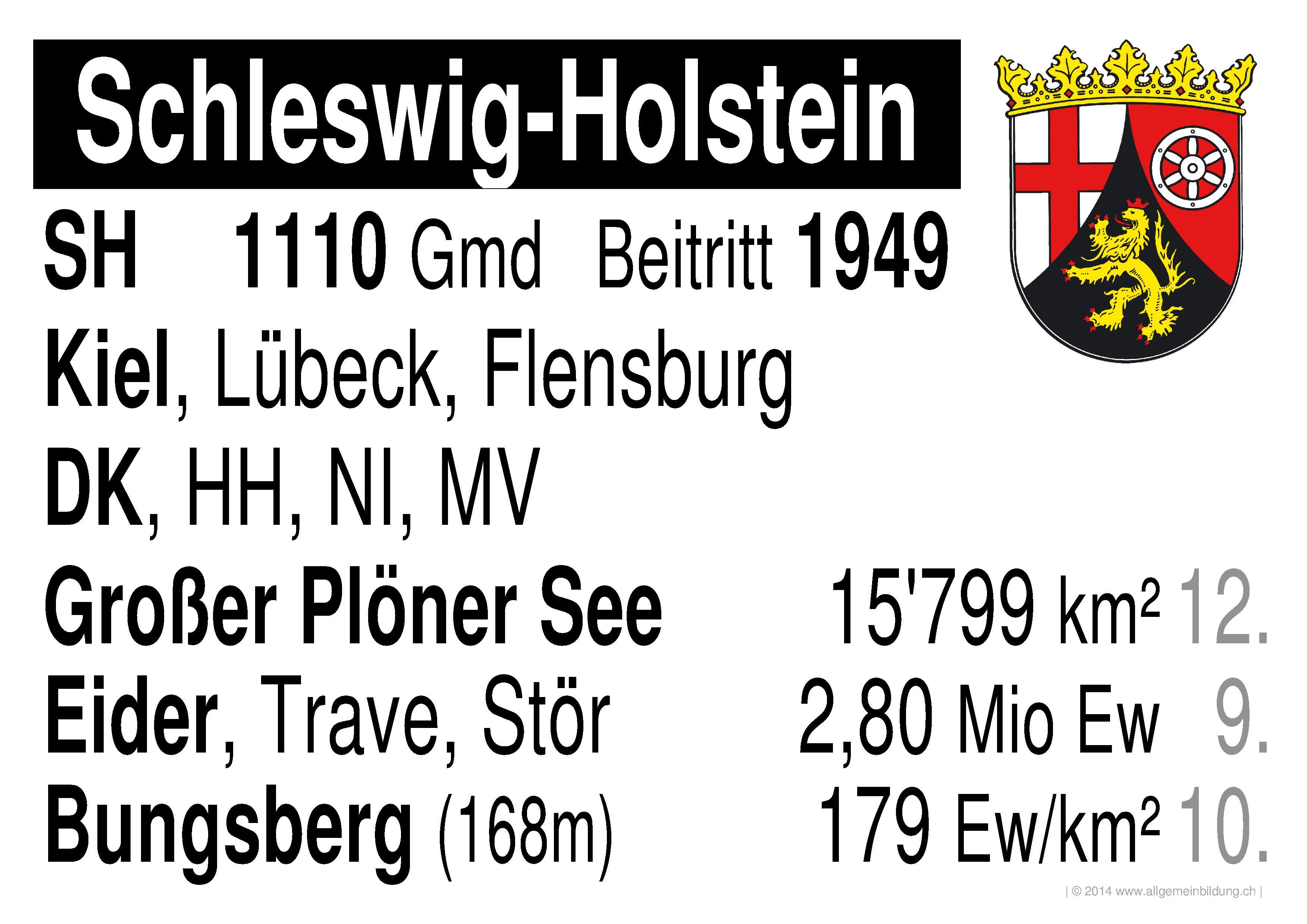 geografie lernplakate wissensposter schleswig holstein deutsche bundesl nder 8500 bungen. Black Bedroom Furniture Sets. Home Design Ideas
