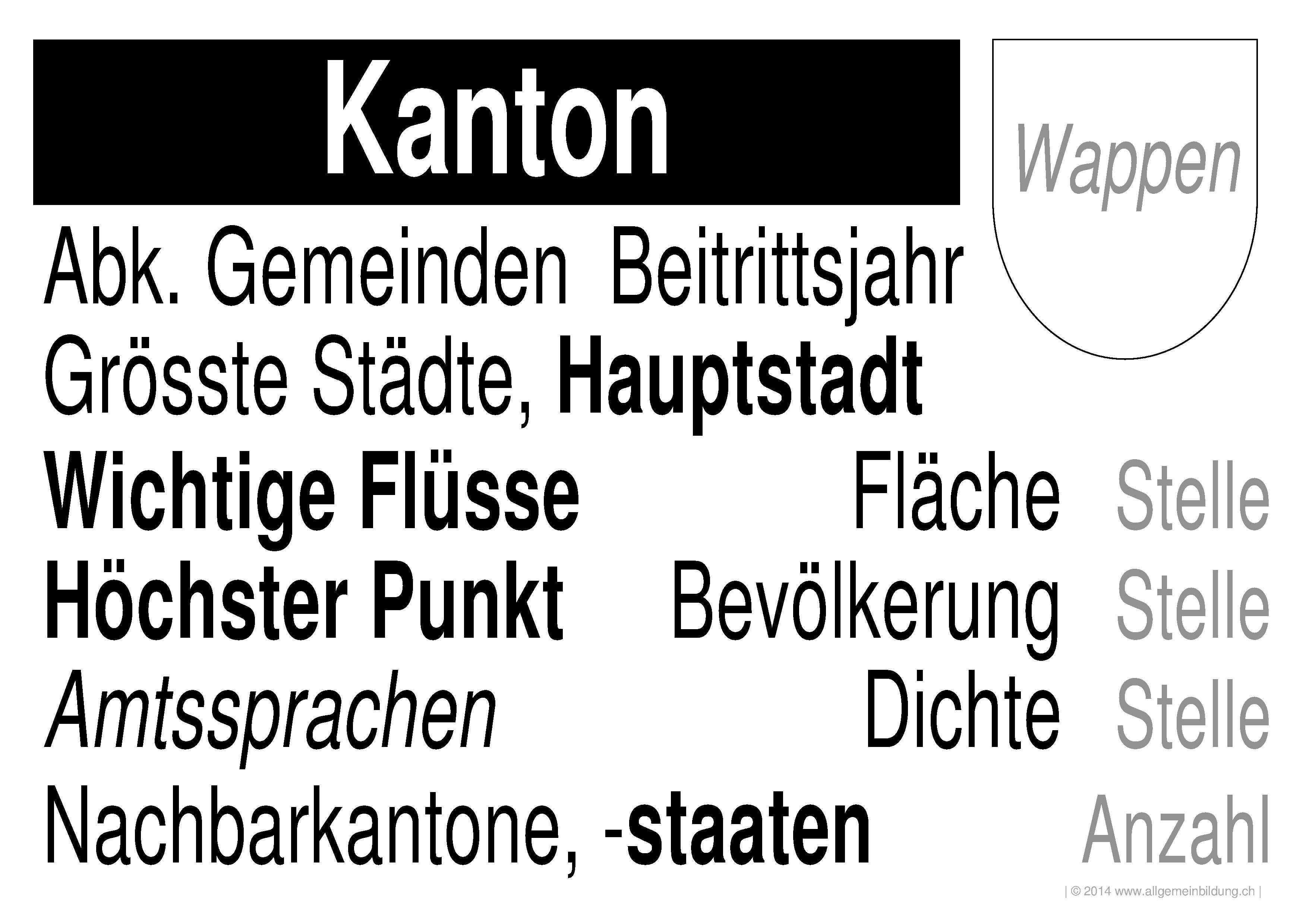 geografie lernplakate wissensposter legende schweizer kantone 8500 bungen arbeitsbl tter. Black Bedroom Furniture Sets. Home Design Ideas