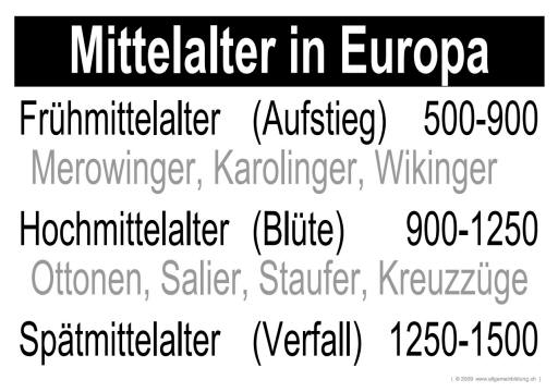 geschichte politik lernplakate wissensposter mittelalter 8500 bungen arbeitsbl tter. Black Bedroom Furniture Sets. Home Design Ideas