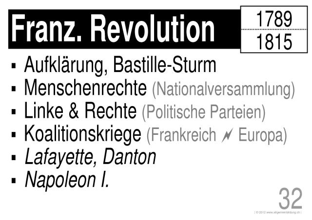 geschichte politik lernplakate wissensposter franz sische revolution weltgeschichte 8500. Black Bedroom Furniture Sets. Home Design Ideas