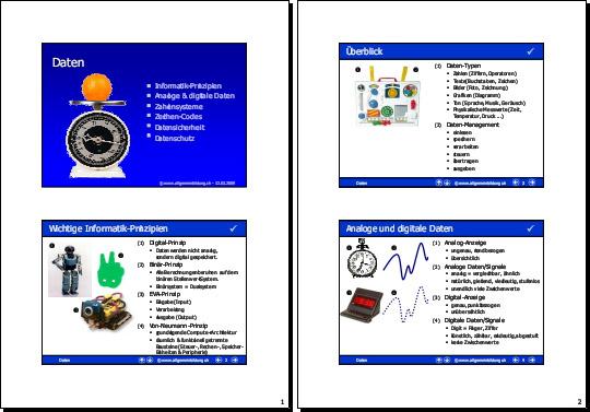 Informatik   Präsentation Software-Daten   8500 Übungen ...