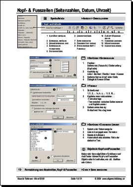 Informatik | Word 2000-2003 Referenz Anleitung Tutorial | 8500 ...