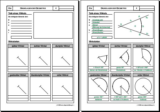 Winkel Berechnen übungen Mit Lösungen : mathematik geometrie arbeitsblatt winkel 8500 bungen arbeitsbl tter r tsel quiz tests ~ Themetempest.com Abrechnung