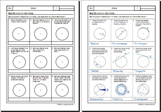 Mathematik 4 Klasse  Grundschule  Klassenarbeitende