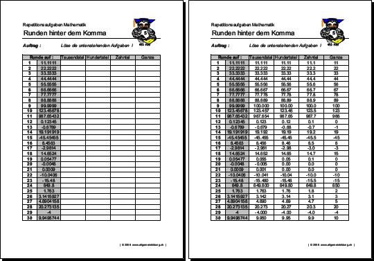 Mathe grundschule 3 klasse abbild 9138599 - memorables.info