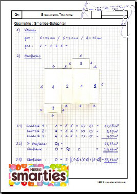 Mathematik & Geometrie | Arbeitsblatt Stellwerk-Check-Test-Training ...