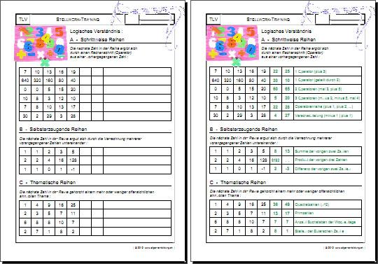 Grundschule 3 Klasse  Klassenarbeiten und Übungsblätter