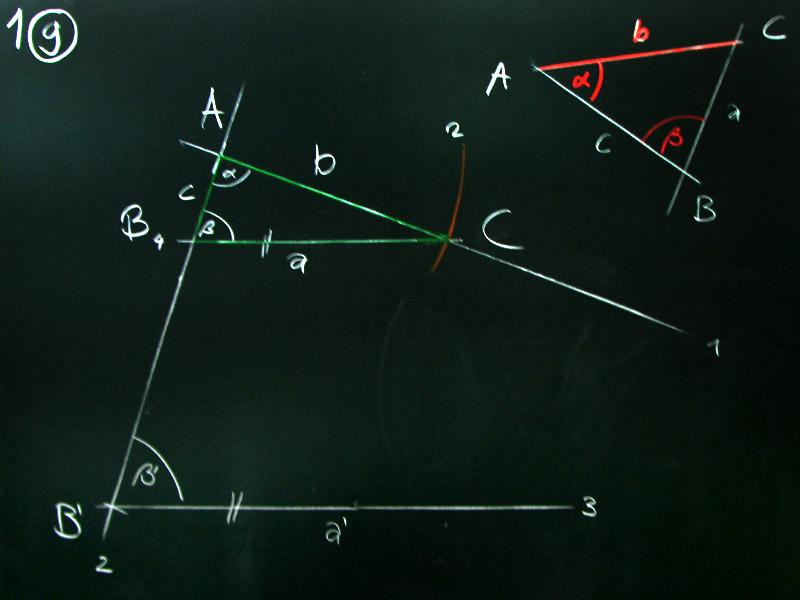 Mathematik & Geometrie | Tafelbilder Dreiecke-Konstruktion | 8500 ...