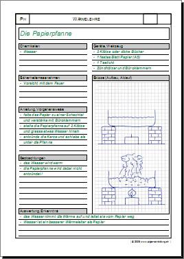 physik arbeitsblatt versuch w rmelehre kalorik 8500 bungen arbeitsbl tter r tsel quiz. Black Bedroom Furniture Sets. Home Design Ideas