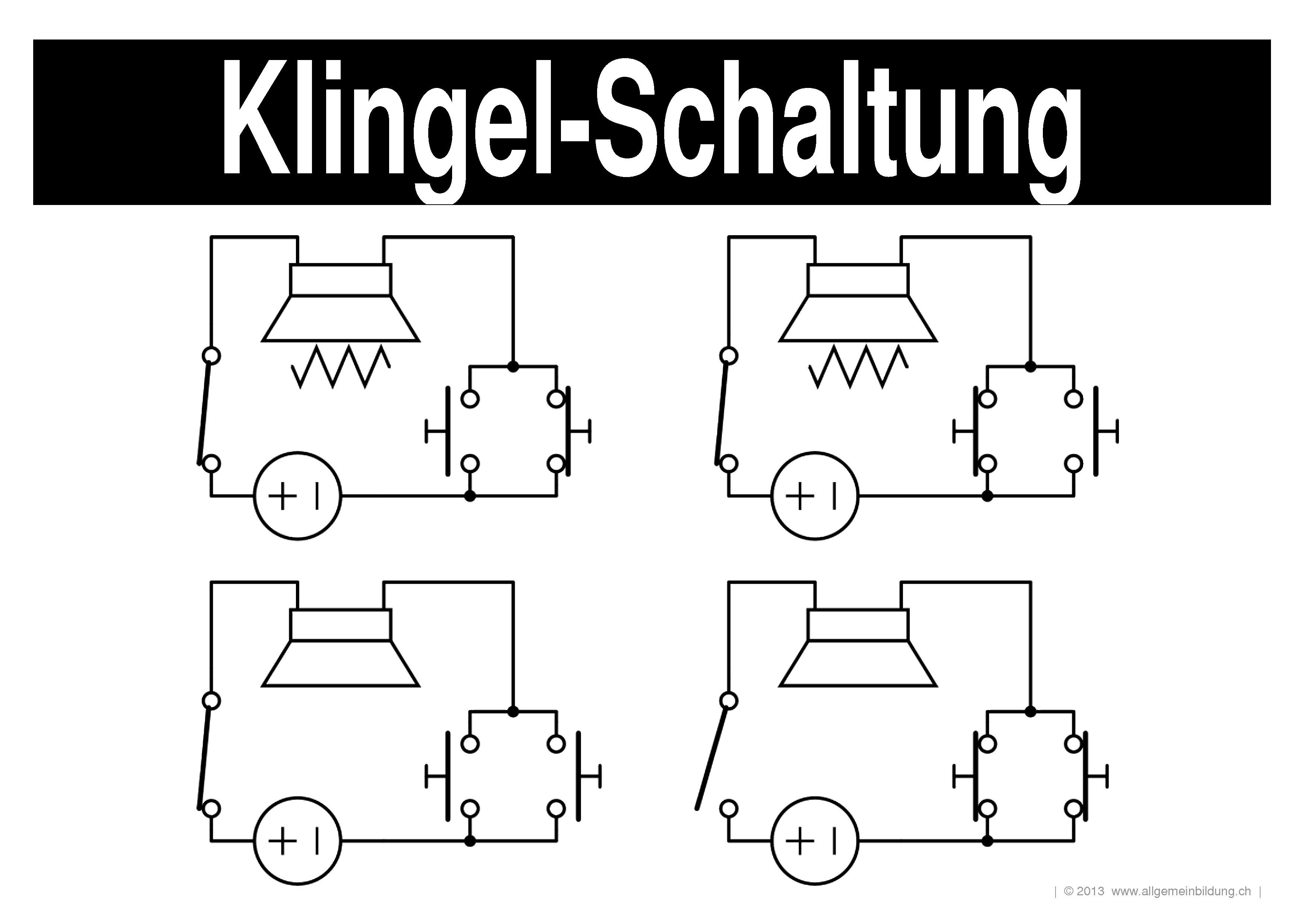 Großartig Art Der Elektrischen Schaltung Fotos - Schaltplan Serie ...
