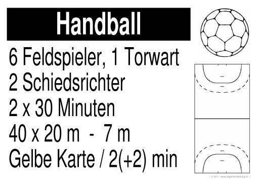 7 feldspieler handball