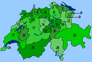 Kantone Schweiz Lernen