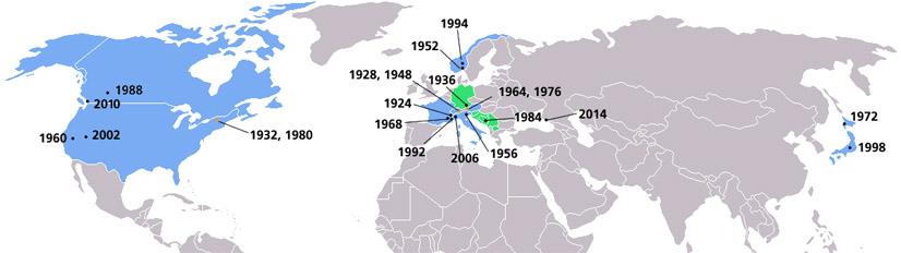 Olympische Winterspiele (c) Wikipedia