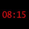 Viertel Acht Uhrzeit