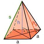 quader pyramide berechnen onlinemathe das mathe forum. Black Bedroom Furniture Sets. Home Design Ideas